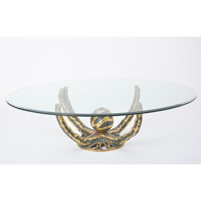 Henri Fernandez Octo Coffee Table, France, 1972 For Sale - Image 10 of 10
