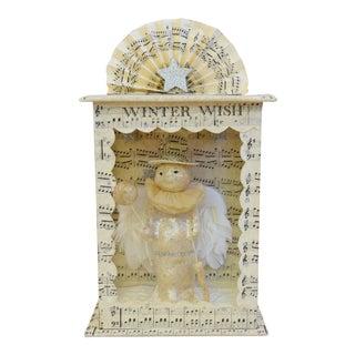 Christmas Holiday Snowman Diorama Display For Sale