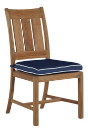 Image of Blue Outdoor Dining Chairs