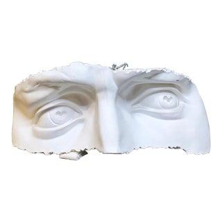 Classical Plaster Model of Michelangelo's David's Eyes For Sale