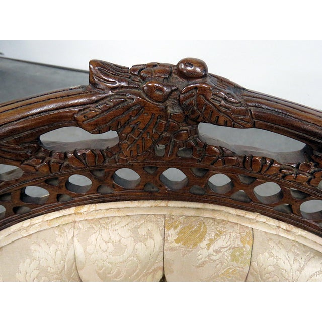 Louis XV Style Marquis Chairs - a Pair For Sale - Image 10 of 12
