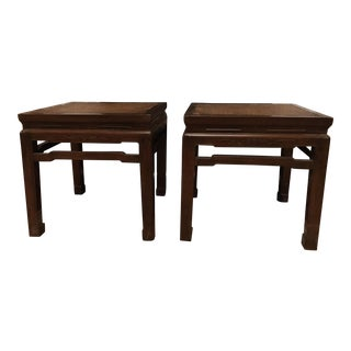 18th Century Soft Cane Asian Tables - a Pair