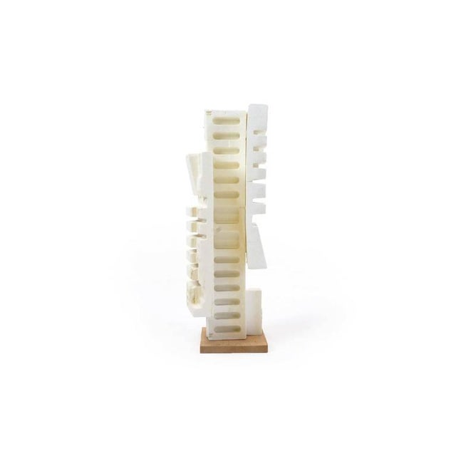Modern Irving Harper Sculpture of Styrofoam from His Paper Sculpture Series For Sale - Image 3 of 9