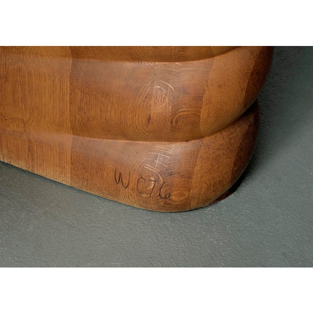 Wood Wendell Castle Custom Desk For Sale - Image 7 of 7