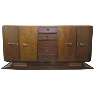 French Art Deco Sideboard or Buffet For Sale