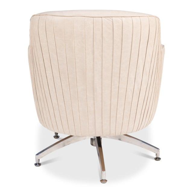 Sarreid Ltd. Executive Swivel Chair For Sale - Image 4 of 5