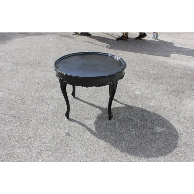 1910s French Louis XVI Coffee Table For Sale In Miami - Image 6 of 13