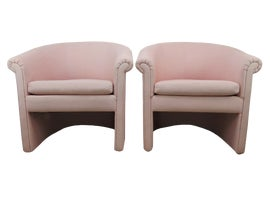 Image of Pink Accent Chairs