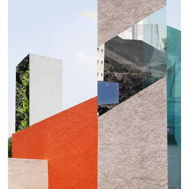 Modern 'Barragan' Montage Photograph Art For Sale - Image 3 of 3