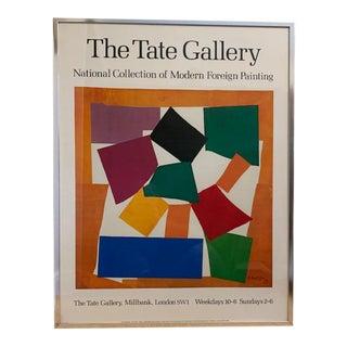 Henri Matisse Rare Vintage 1979 Framed Tate Gallery Litho Print For Sale