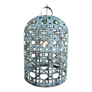 Copper Fish Basket Bell Lantern XL