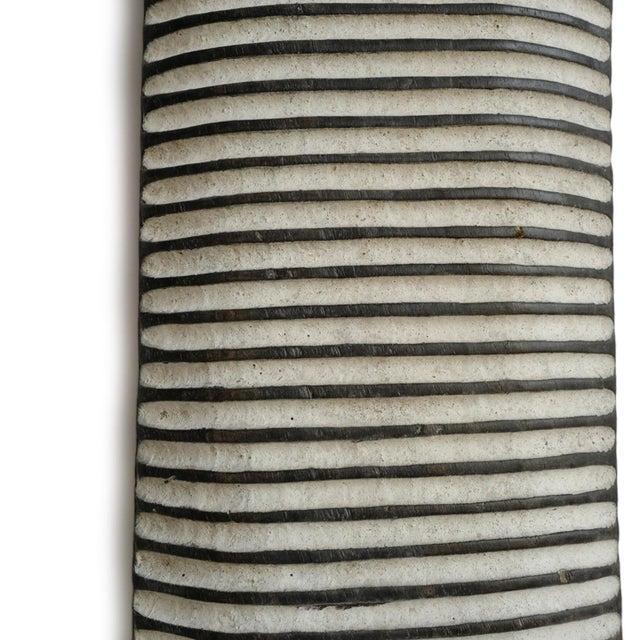 Tribal Elongated Zulu Shield For Sale - Image 3 of 4