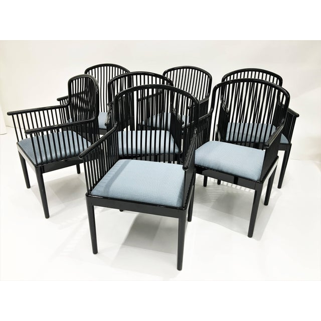 "Mid-Century Modern Set of 14 Vintage Davis Allen ""Andover"" Chairs for Stendig For Sale - Image 3 of 11"