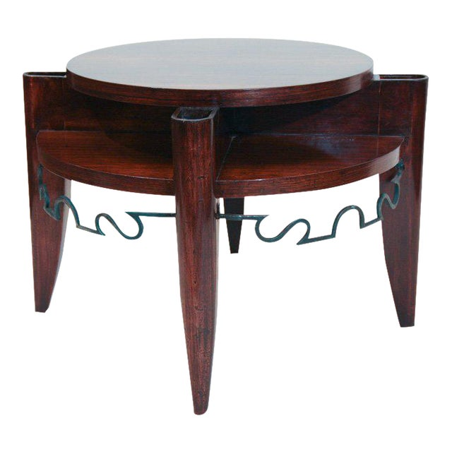 Art Deco Smoking Table by Leon & Maurice Jallot For Sale