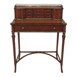 Vintage Maitland-Smith Mahogany Occasional Desk For Sale