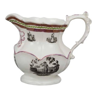 English Lustre Ware Pitcher For Sale