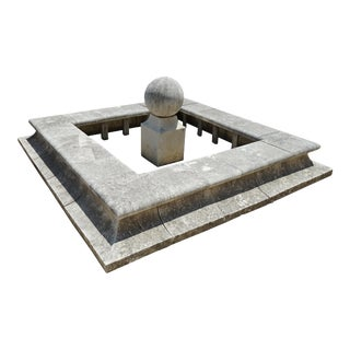 The Bassin Carre Central Fountain For Sale
