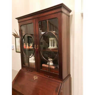 18th Century George III Mahogany Bureau Bookcase Preview