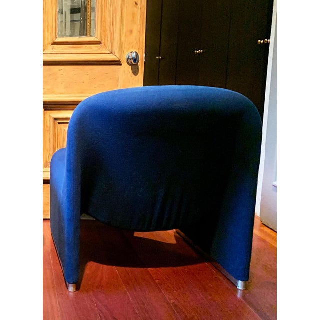 """This is a fabulous mid century modern """"Alky"""" lounge chair designed by Giancarlo Piretti for Castelli, Italy c 1970s...."""