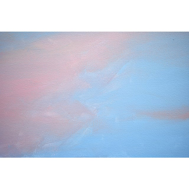 """2010s Modern """"Morning Clouds"""" Contemporary Painting by Stephen Remick For Sale - Image 5 of 10"""