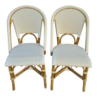 Serena & Lily Bamboo Chairs - a Pair For Sale