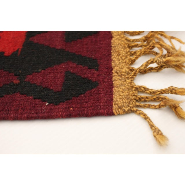 Vintage Yoruk handmade rug, made of 100% Wool. Handmade rugs are perfectly imperfect.