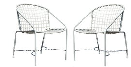Image of Iron Dining Chairs