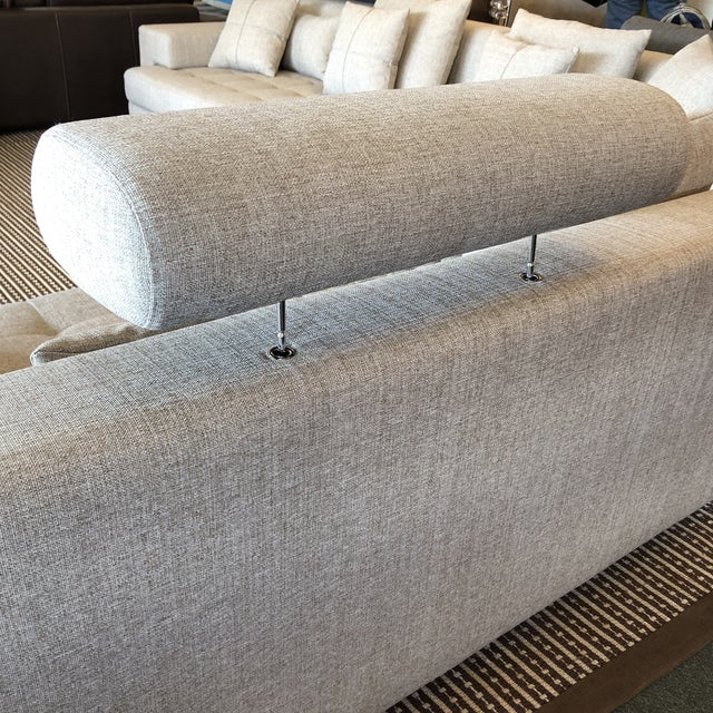 Cepella Left Seated Sectional by Scandinavian Designs For Sale - Image 9 of 11