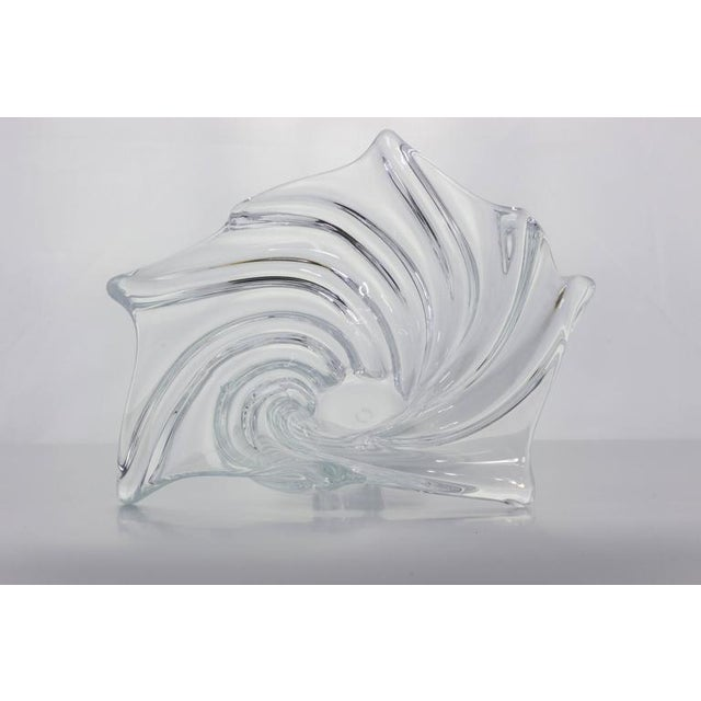 Vannes 1950s Crystal Bowl For Sale In New York - Image 6 of 7