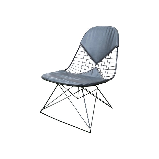 Eames LKR Lounge Chair With Cat's Cradle Base For Sale