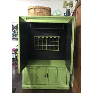 Vintage Painted Armoire Preview