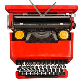 1960s Olivetti Valentine Typewriter by Ettore Sottsass For Sale