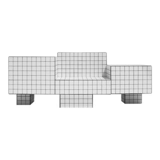 TS I Tiled Loveseat in Ceramic Tile by Nima Abili