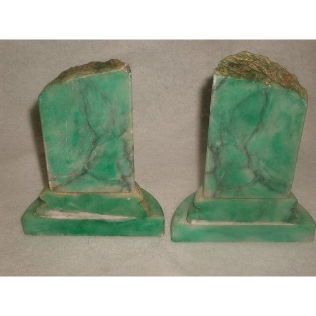 Italian 20th Century Marble Bookends - Pair For Sale - Image 4 of 6