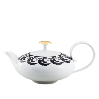 """Vogelkolonie"" Tea Pot Gold by Koloman Moser & Ena Rottenberg For Sale"