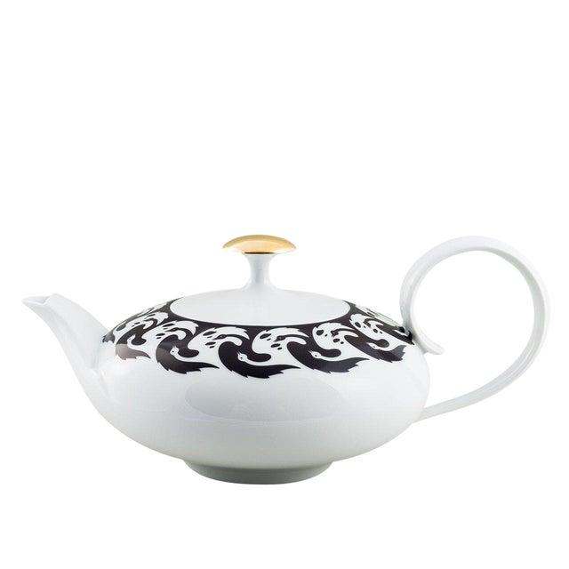 """Vogelkolonie"" Tea Pot Gold by Koloman Moser & Ena Rottenberg For Sale"