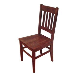 Vintage Shaker Wooden Chair For Sale