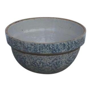 19th Century Spongeware Bake Bowl For Sale