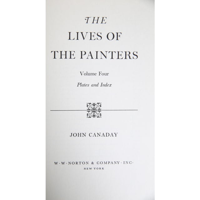 The Lives of the Painters, S/4. Four vintage books (housed in original slipcase) featuring a comprehensive overview of...