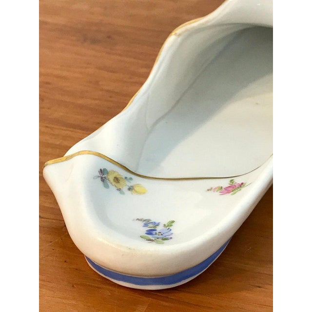 Late 19th Century 19th Century Meissen Model of a Slipper For Sale - Image 5 of 12