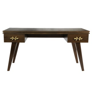 Rochelle Writing Desk (Perfect Walnut) For Sale