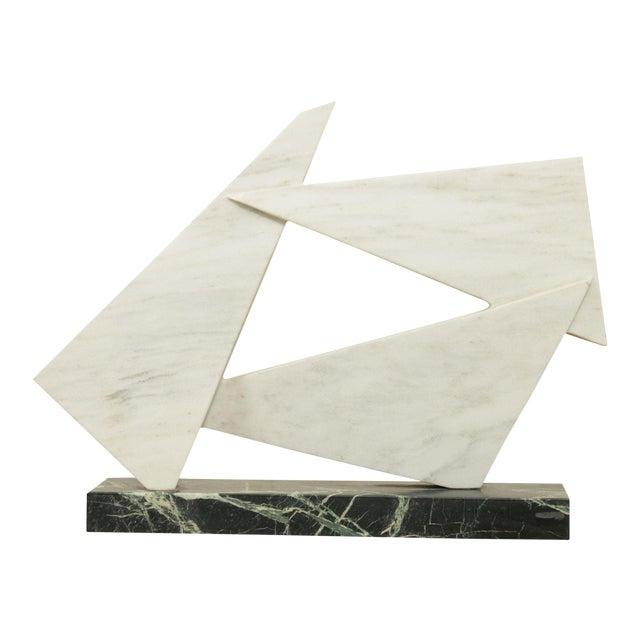 Richard H. Bailey Geometric Marble Sculpture For Sale