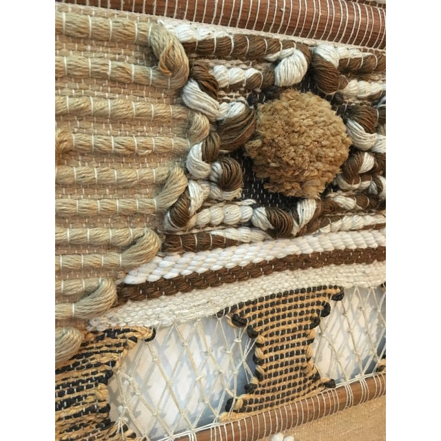 Brown Don Freedman Macrame Wall Hanging For Sale - Image 8 of 11