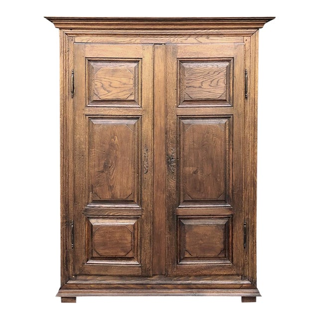 Early 19th Century Country French Armoire For Sale