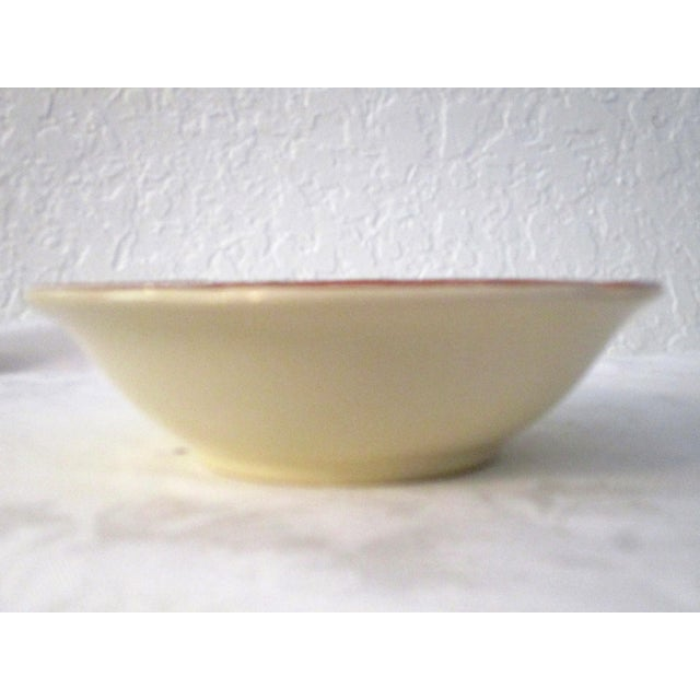 Green Franciscan Apple Dinner Plates & Coupe Bowls - Set of 12 For Sale - Image 8 of 9