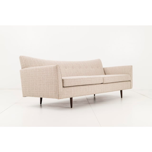 Mid-Century Modern 1950s Vintage Paul McCobb Pagoda Sofa For Sale - Image 3 of 9