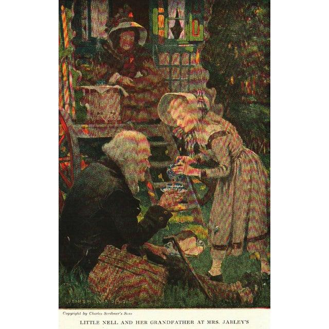 """1940s 1947 """"The Children of Dickens"""" Collectible Book For Sale - Image 5 of 7"""