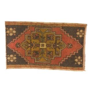 "Turkish Handmade Anatolian Oushak Carpet - 1'9"" x 2'10"""