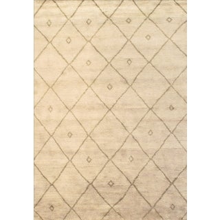Modern Moroccan Rug - 6′ × 9′ For Sale