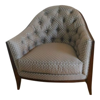 Modern Maxine Tufted Accent Chair For Sale